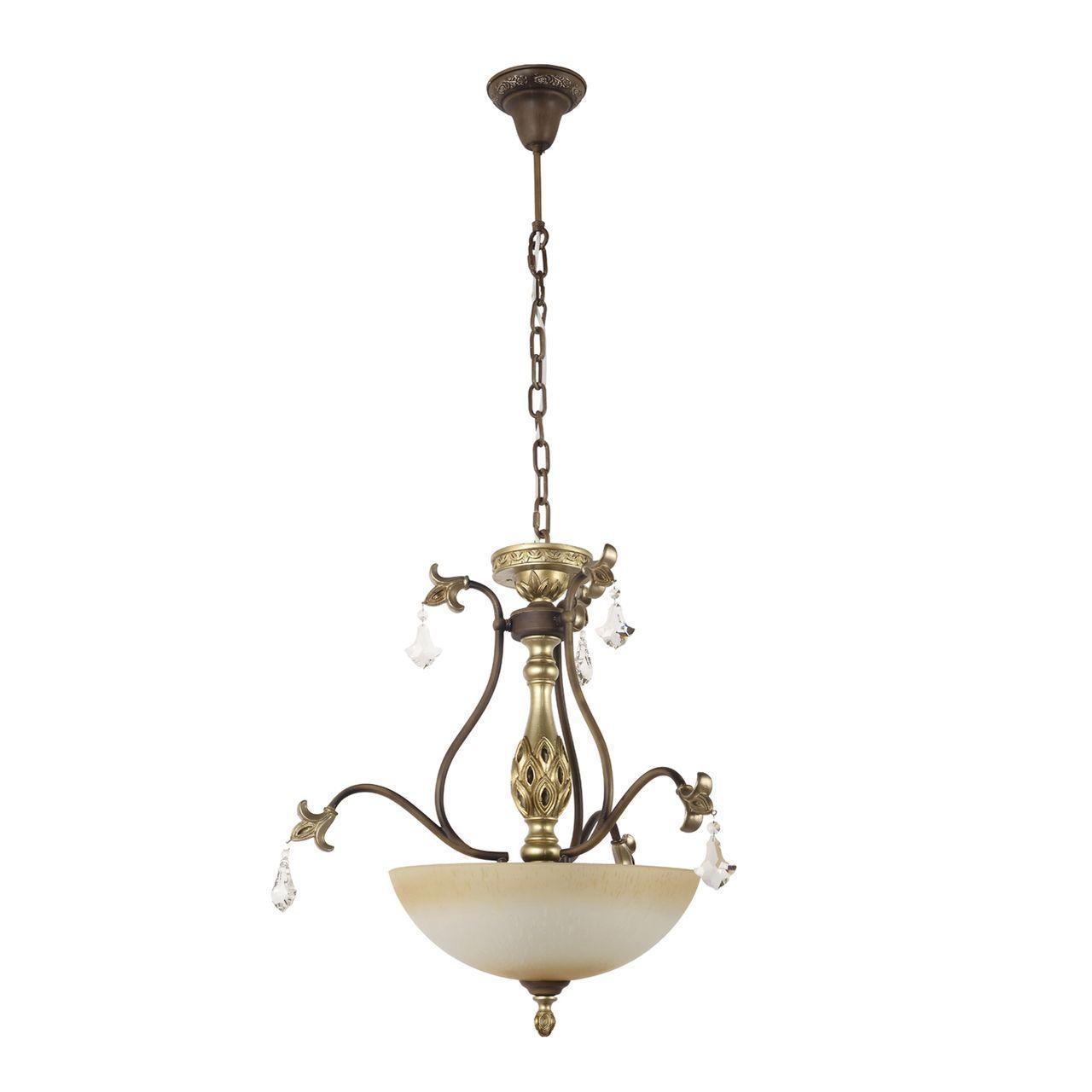 Подвесной светильник Dio DArte Asfour Dorato E 1.13.40.200 S