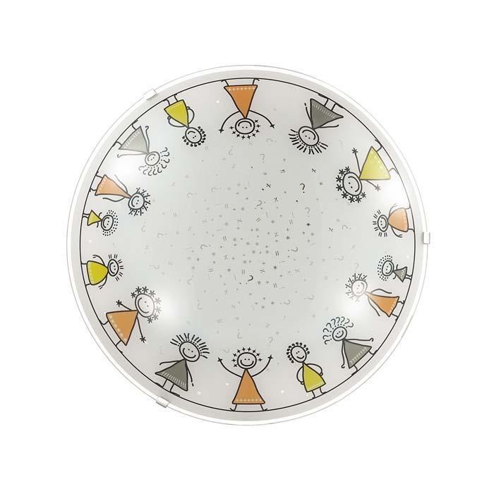 Настенно-потолочный светодиодный светильник Sonex Kids 2068/BL