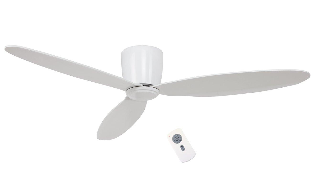 313263CAS Потолочный вентилятор с пультом ДУ Casafan Eco Plano 132 WE-WE RC