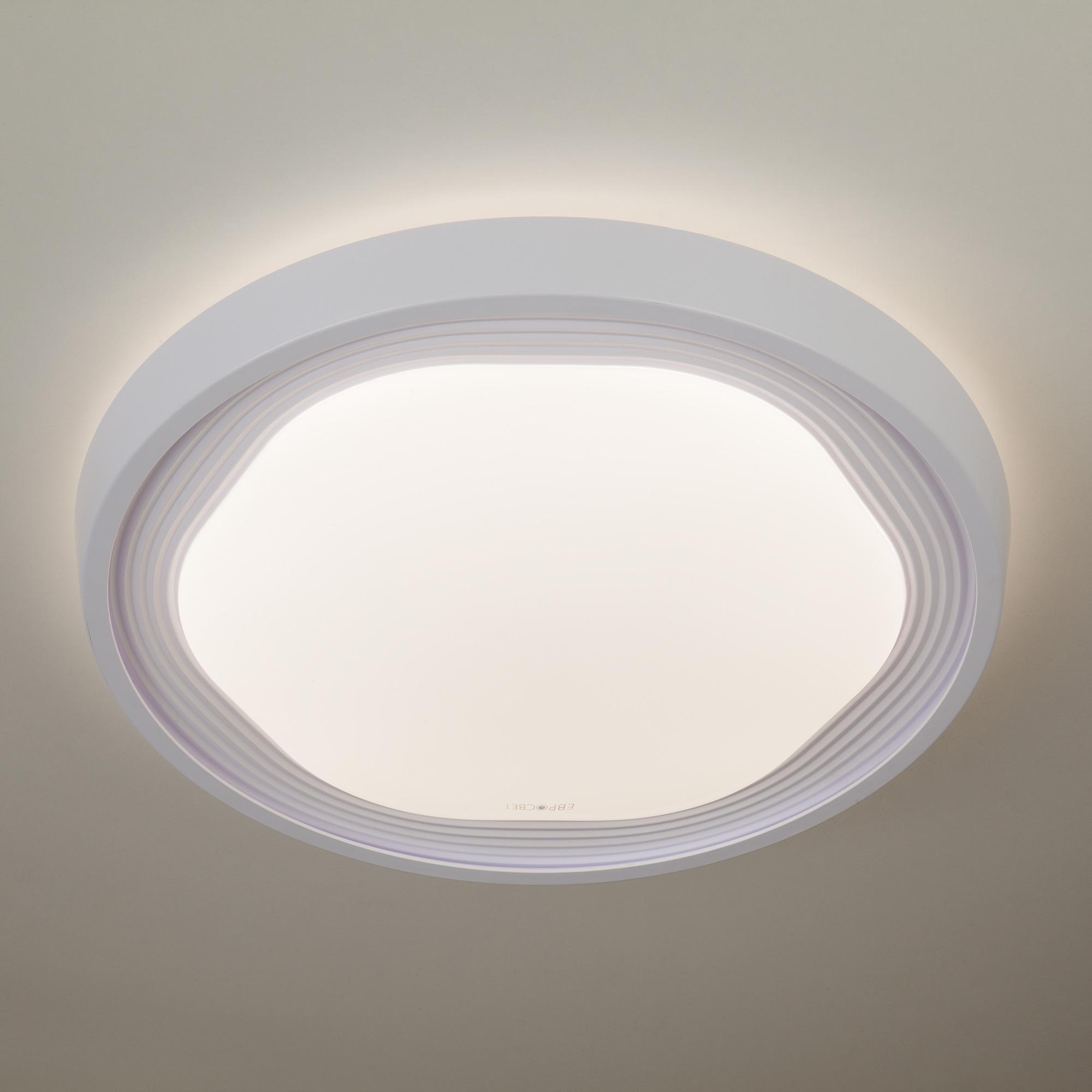 Потолочный светодиодный светильник Eurosvet Range 40005/1 LED белый