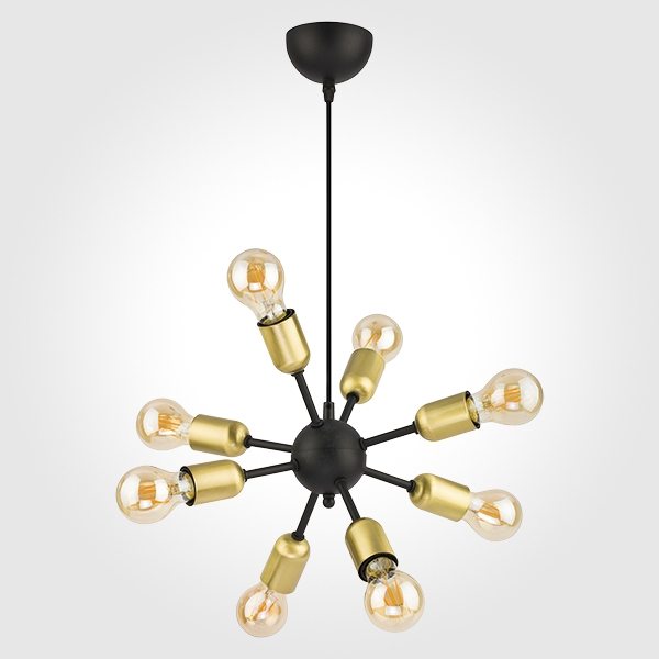 Люстра подвесная 1468 Estrella Black TK Lighting TK Lighting