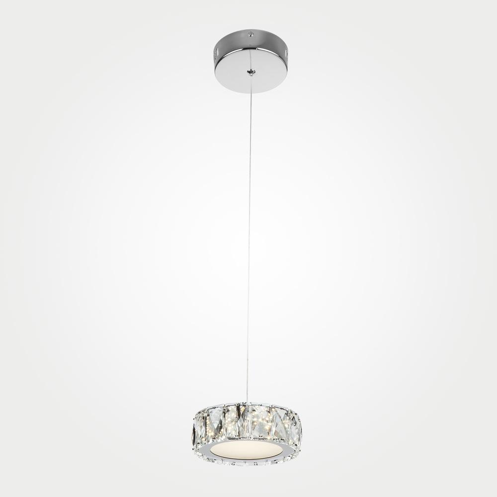 Подвесной светодиодный светильник Eurosvet Grasia 90048/1 хром