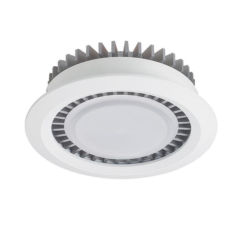 Встраиваемый светодиодный светильник Lucia Tucci Turbo 141.1-5W-WT/GR