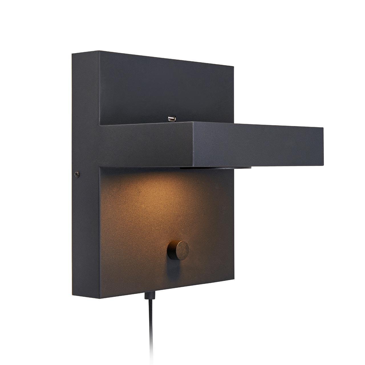 Настенный светодиодный светильник Markslojd Kubik 107065