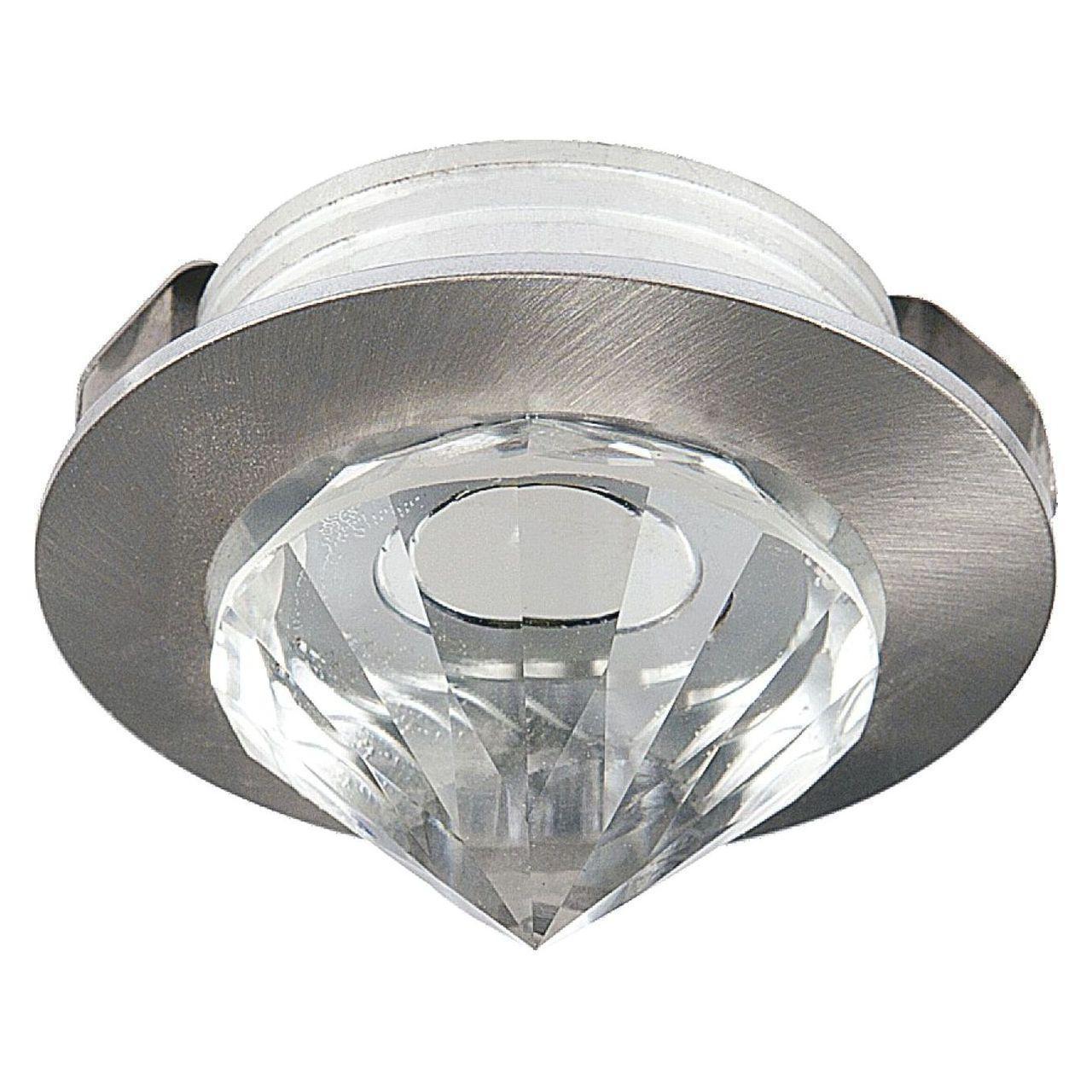 Встраиваемый светодиодный светильник Horoz Nadia 1W 6400К матовый хром 016-027-0001 (HL661L)