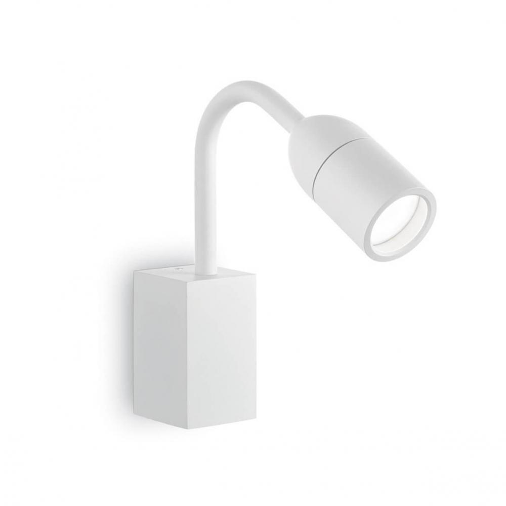 Уличный настенный светильник Ideal Lux Loop AP1 Bianco
