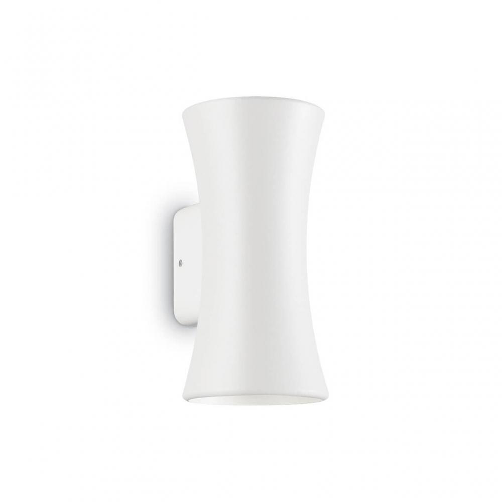 Уличный настенный светодиодный светильник Ideal Lux Lab AP2 Bianco