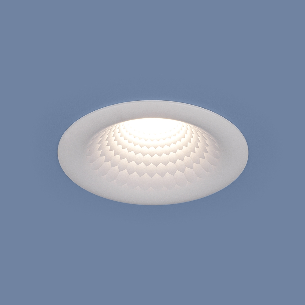9904 LED 5W WH белый Встраиваемый точечный LED светильник Elektrostandard