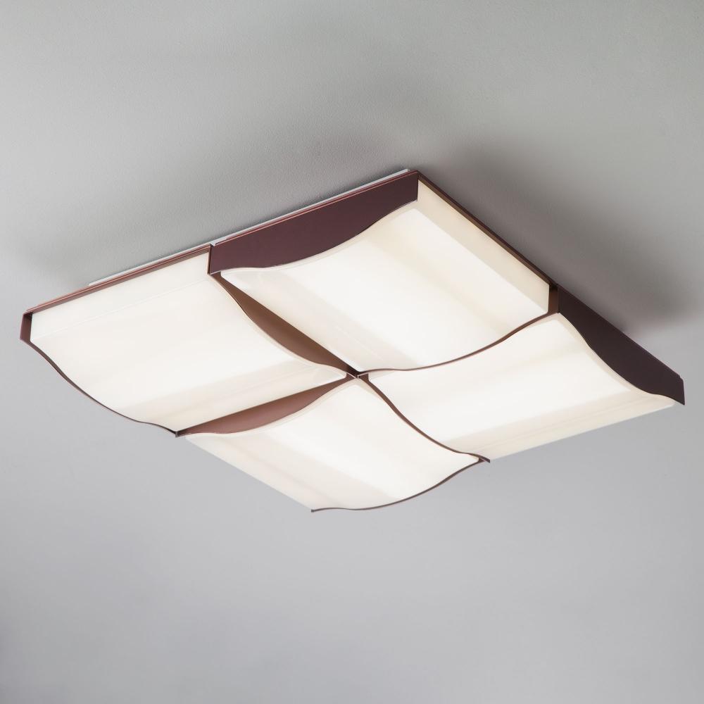 Потолочный светильник Eurosvet 90031/4 кофе