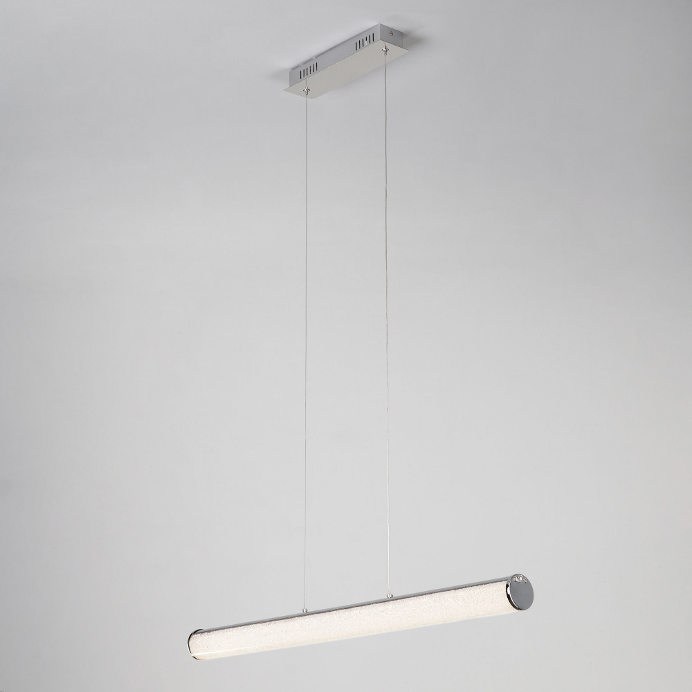 Подвесной светодиодный светильник Eurosvet Brilliance 90061/1 хром