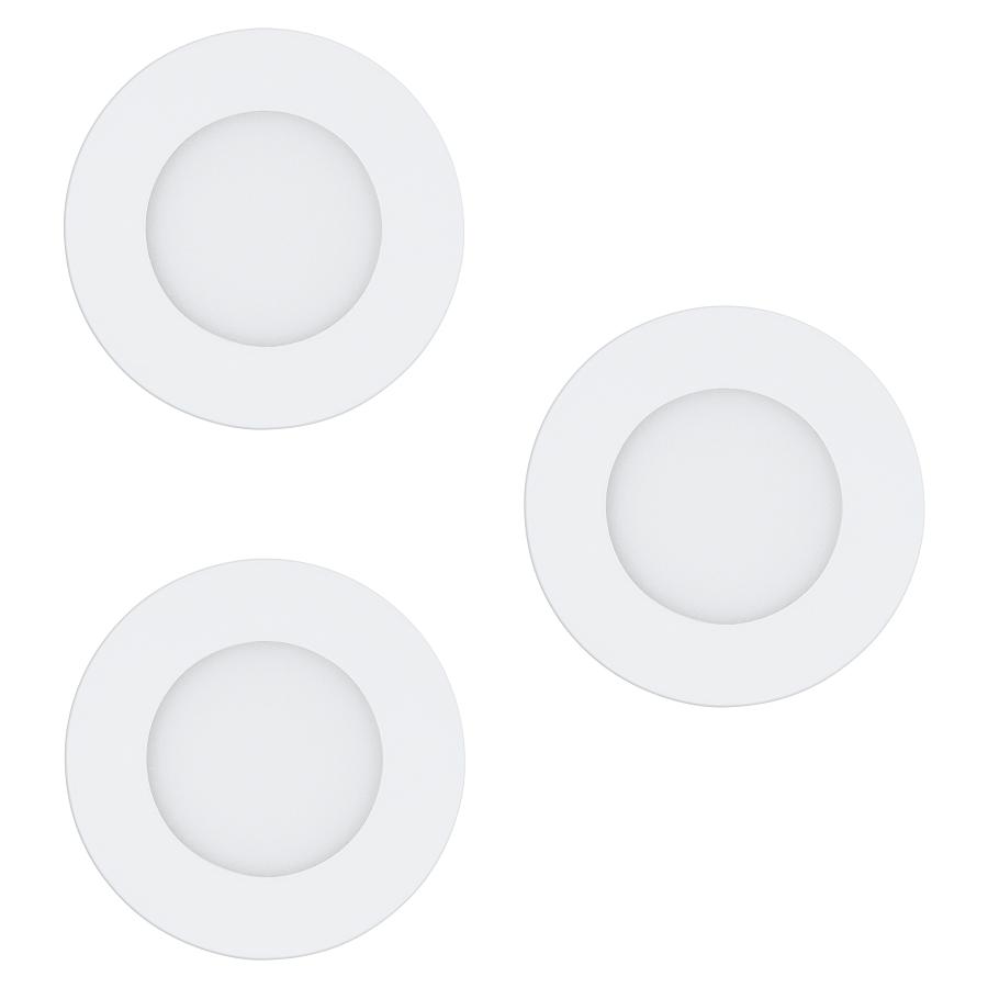 97111 Светодиодный встраиваемый светильник 3 шт Eglo FUEVA-RW