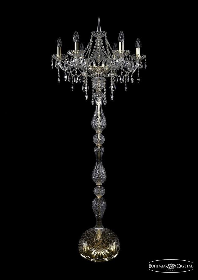1415T1/6/200-160/G Торшер Bohemia Ivele Crystal
