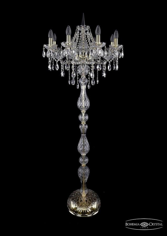 1415T1/8/200-160/G Торшер Bohemia Ivele Crystal