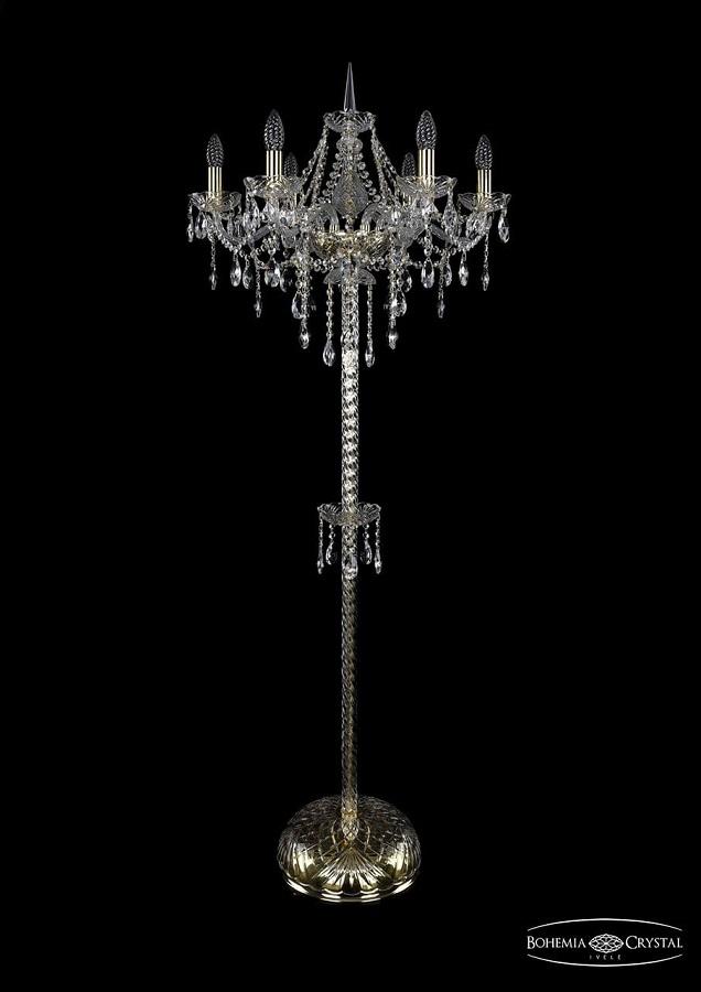 1415T2/6/200-160/G Торшер Bohemia Ivele Crystal