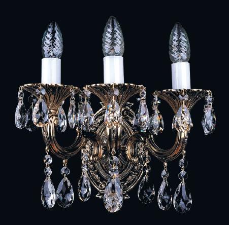 1702B/3/175/A/GB Бра Bohemia Ivele Crystal