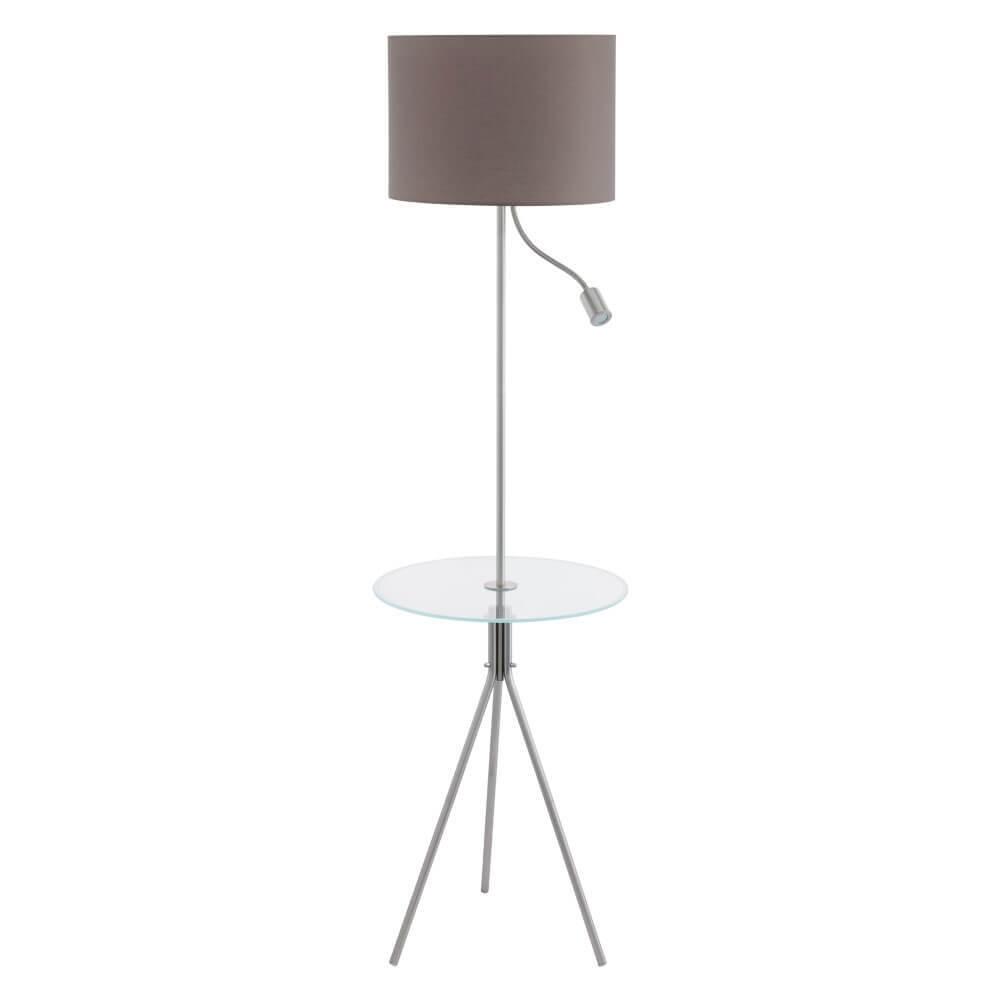 97771 Торшер с лампой для чтения и столиком на треноге Eglo Policara