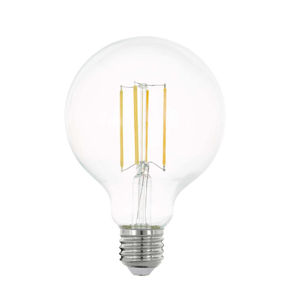 11756 Лампа LED филаментная прозрачная G95 E27 Eglo