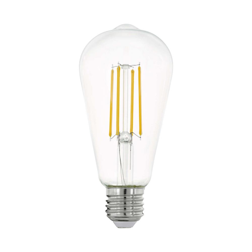 11757 Лампа LED филаментная прозрачная ST64 E27 Eglo