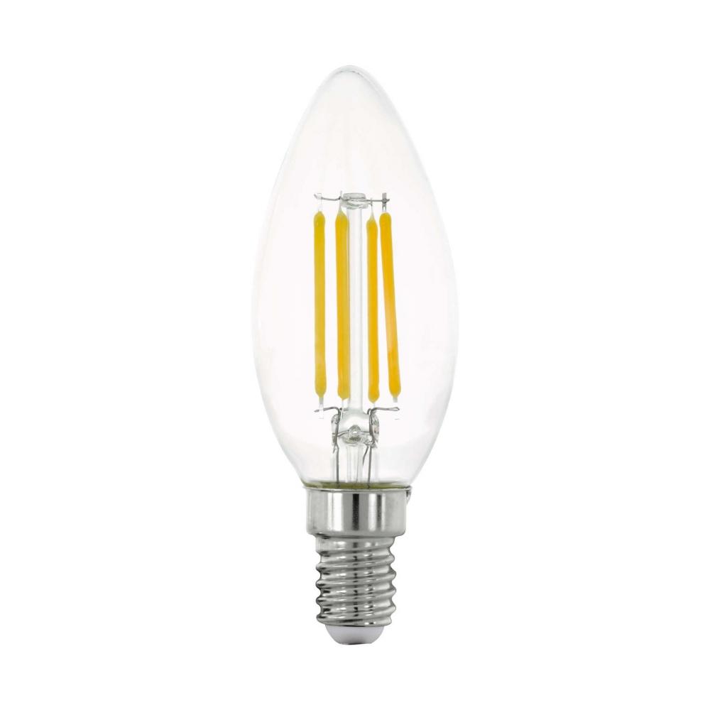11759 Лампа LED филаментная прозрачная ''Свеча'' C35 E14 Eglo