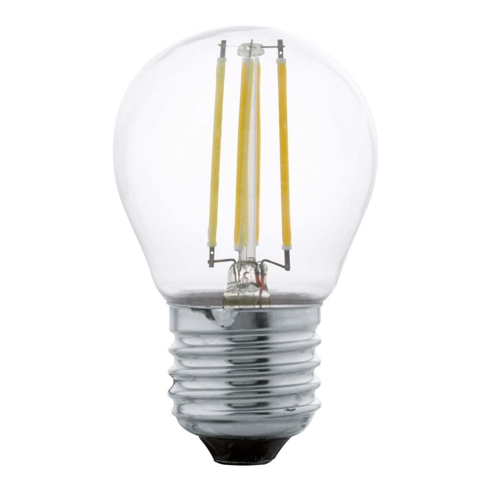 11762 Лампа LED филаментная прозрачная G45 E27 Eglo
