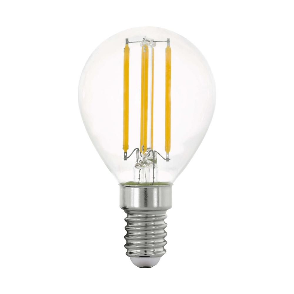 11761 Лампа LED филаментная прозрачная P45 E14 Eglo