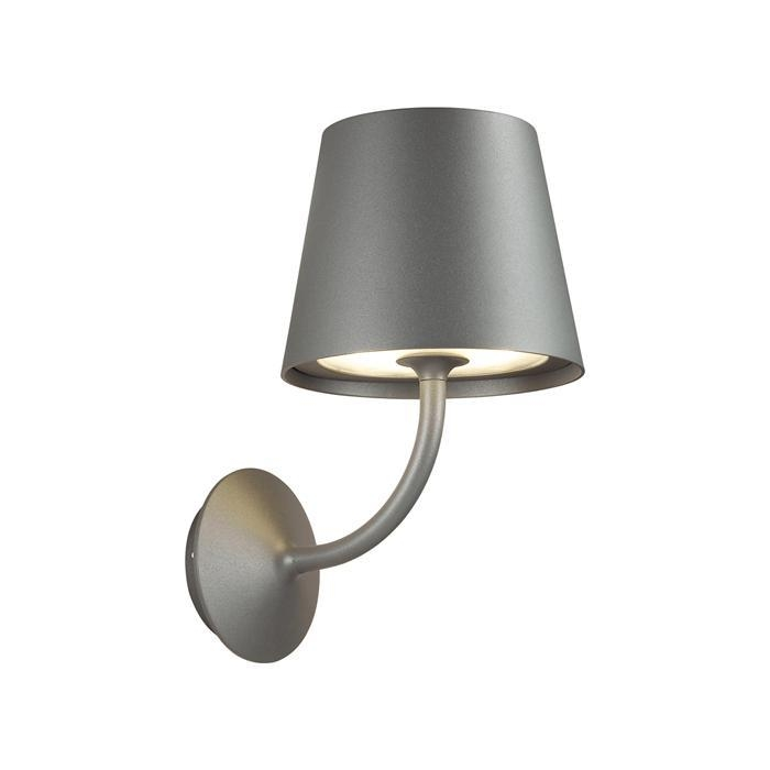 Уличный настенный светодиодный светильник Odeon Light Elin 4608/7WL