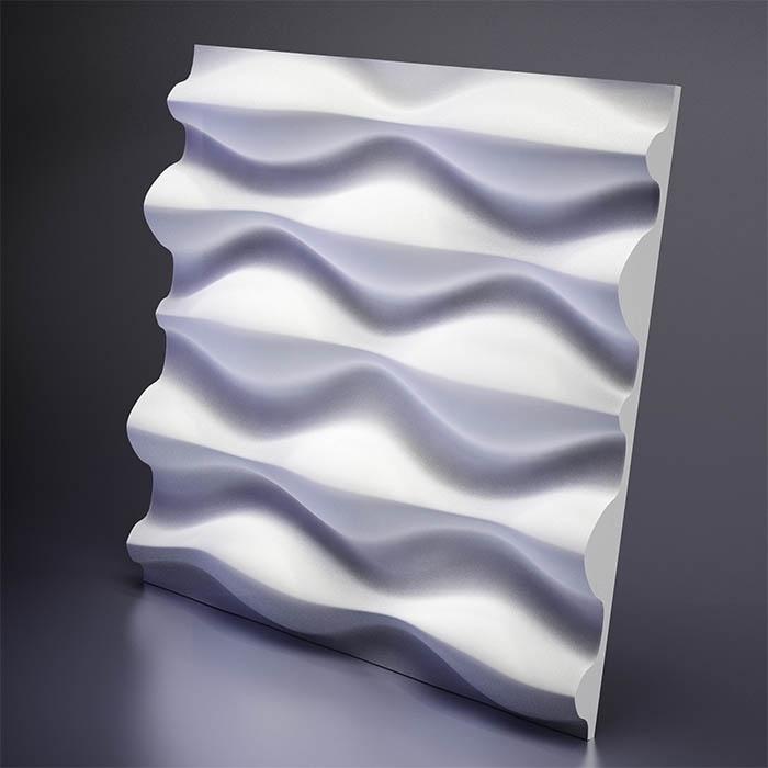 M-0016 Дизайнерская 3D панель из гипса Artpole Design Drop