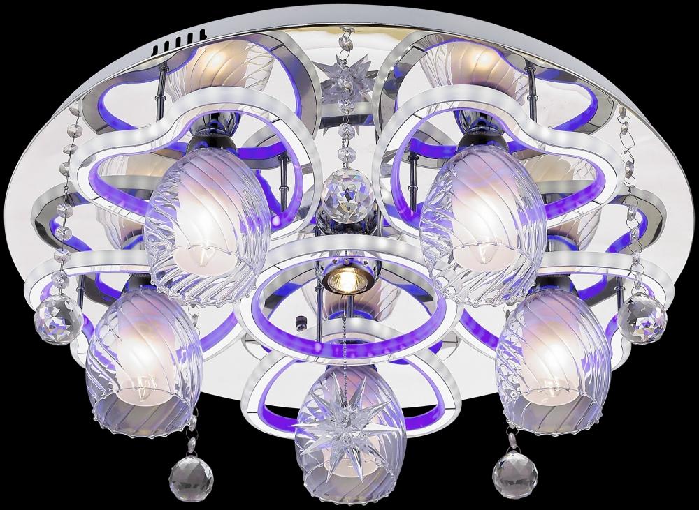 736-107-06 Потолочная люстра со светодиодной подсветкой, с пультом Velante