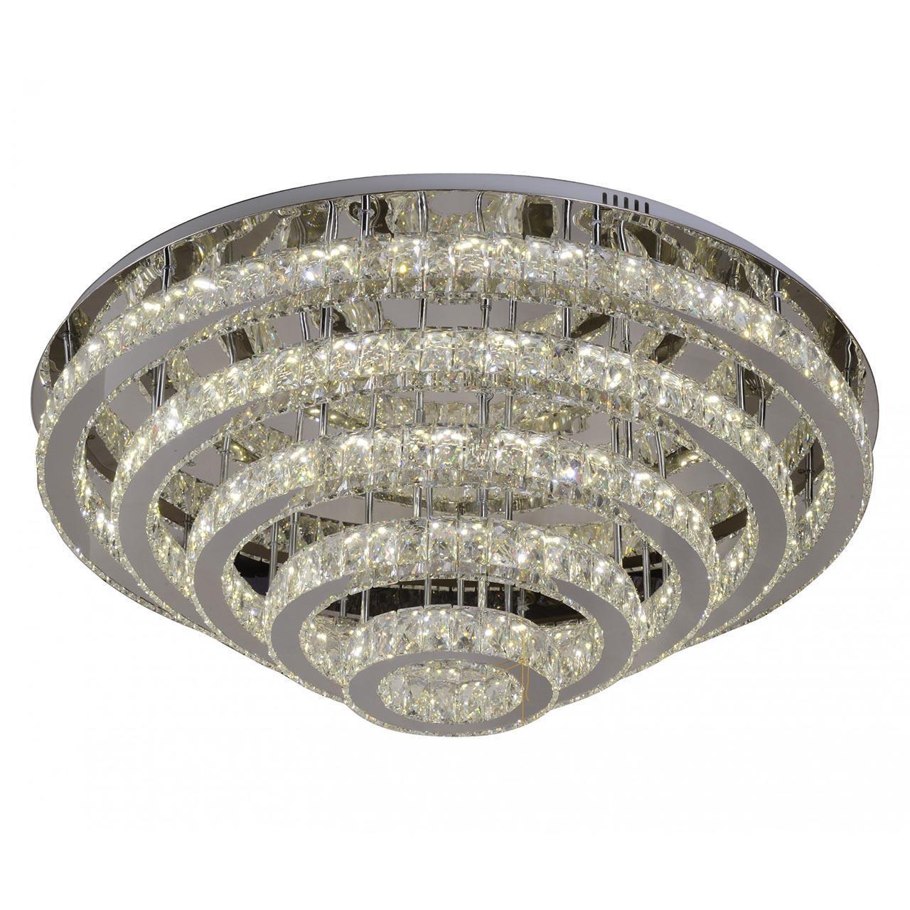 Потолочный светодиодный светильник Kink Light Тор-Кристалл 08555(3000-6000K)