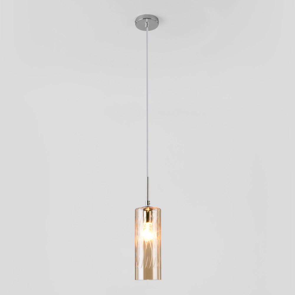 Подвесной светильник Eurosvet Pablo 50149/1 хром