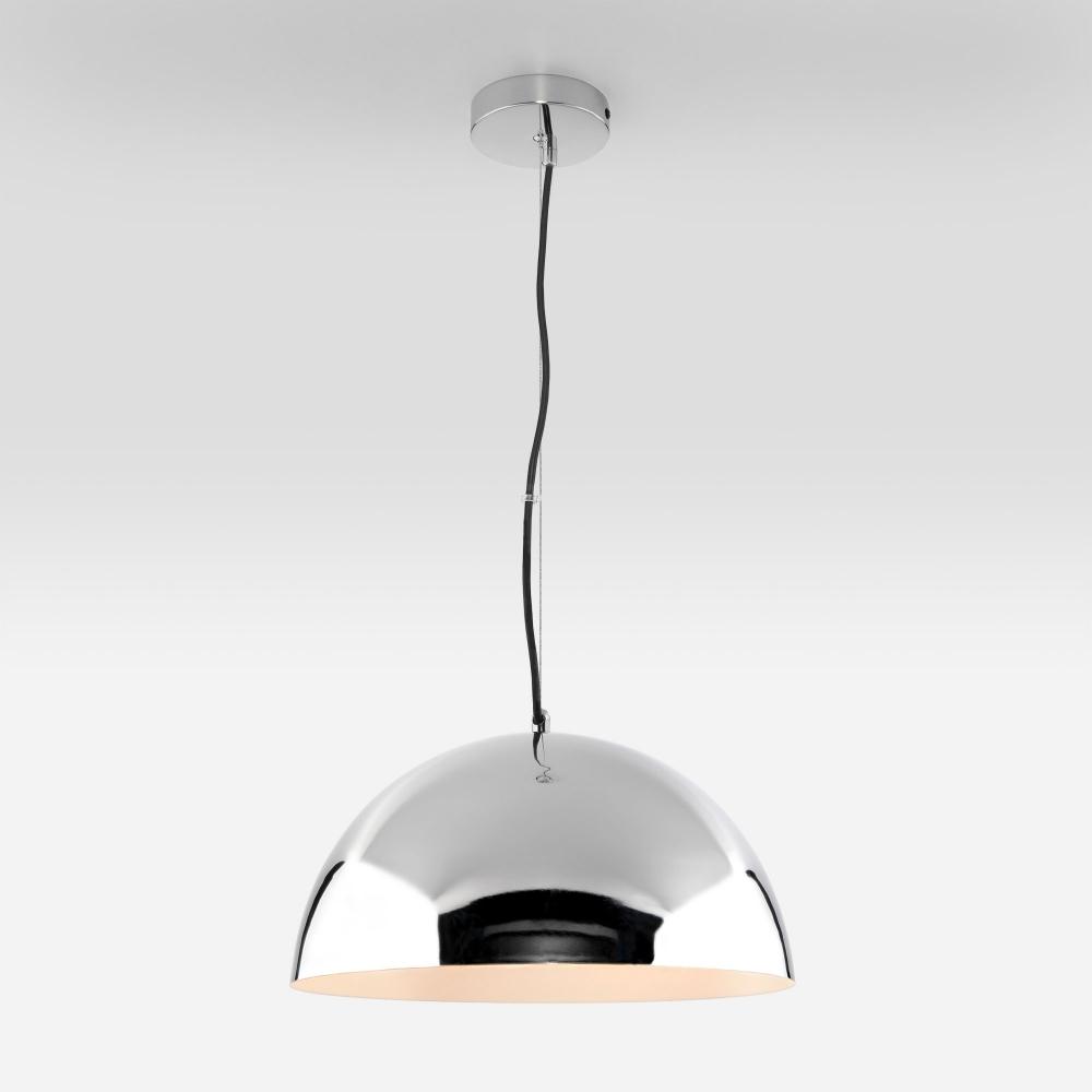 Подвесной светильник с хромированным плафоном Eurosvet Cupola 50147/3 хром