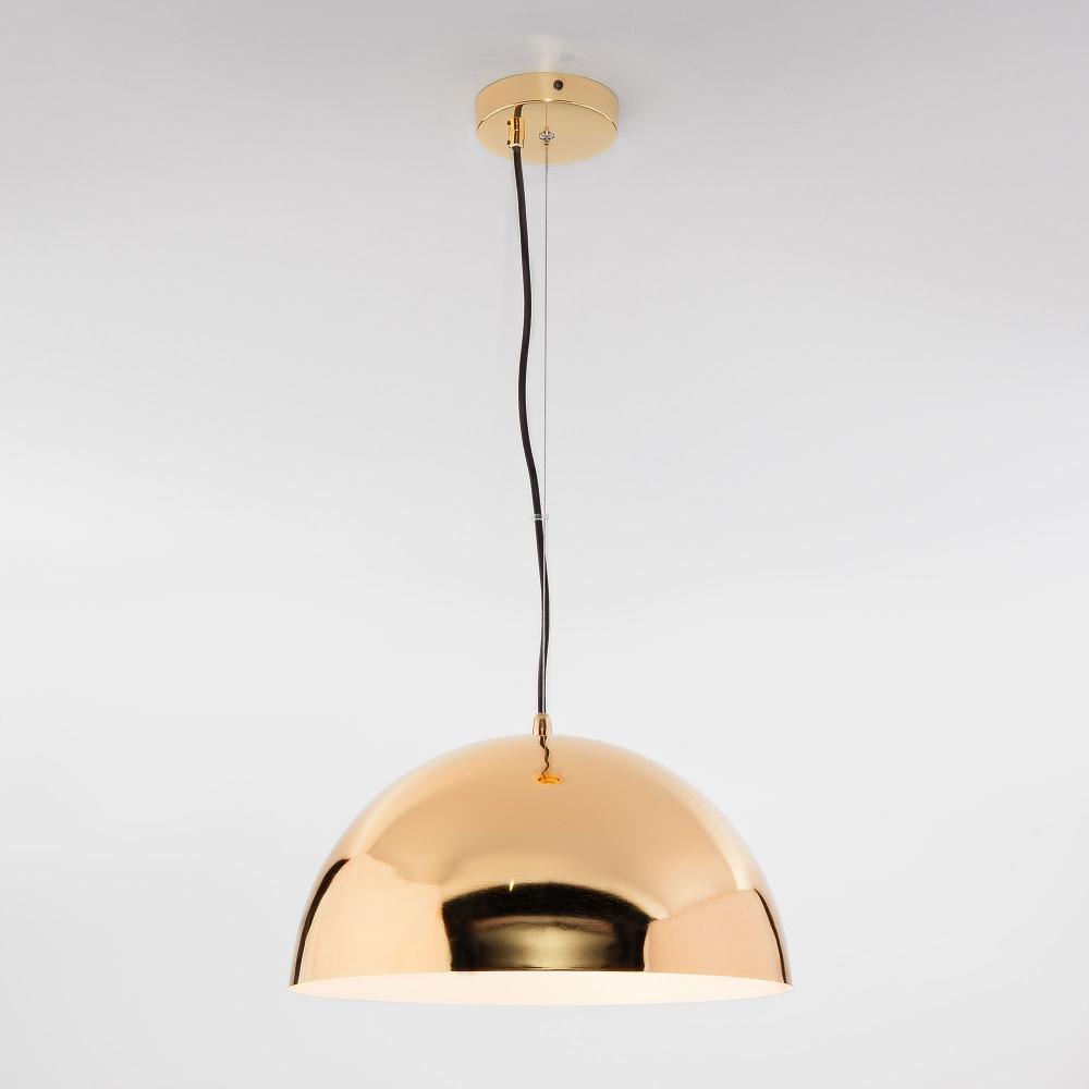 Подвесной светильник с золотым плафоном Eurosvet Cupola 50147/3 золото