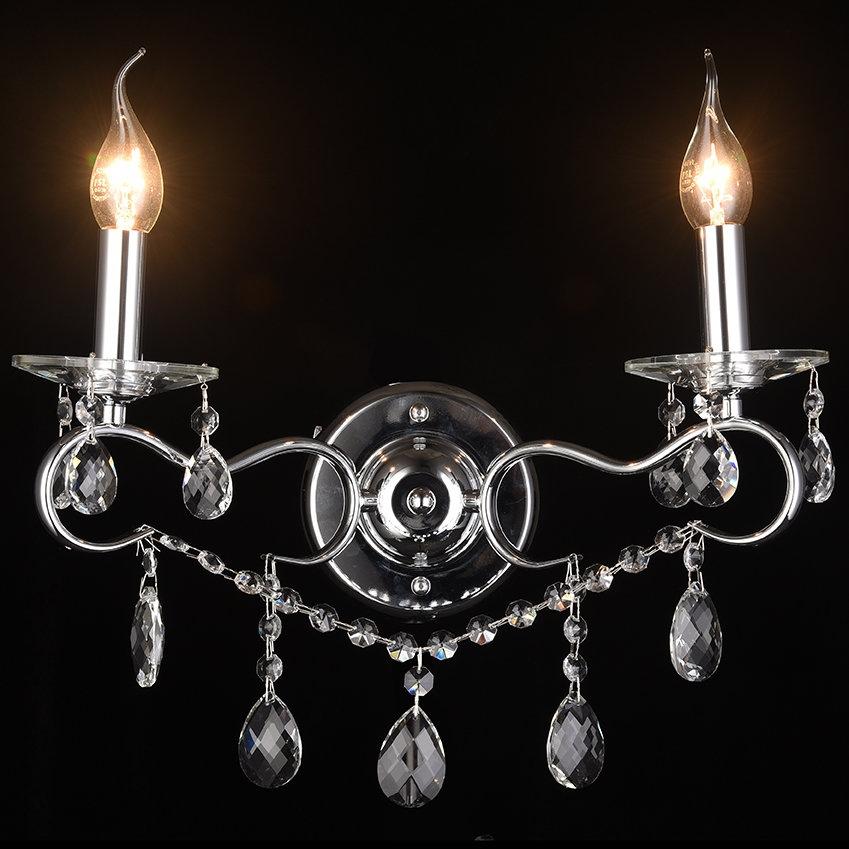 0016/2W-CR Бра настенное Lumien Hall Юнона
