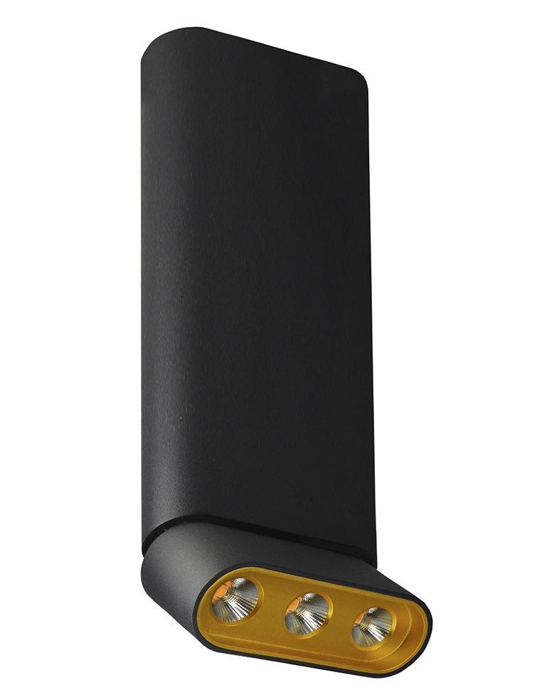 Светодиодный спот Lumien Hall Фергус 8005/3CL-BK-GD