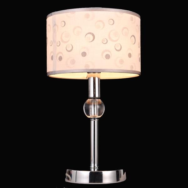 FLANTE 75058/1T CHROME Настольная лампа Natali Kovaltseva