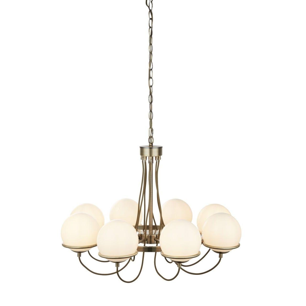 A2990LM-8AB Подвесная люстра Arte Lamp Bergamo