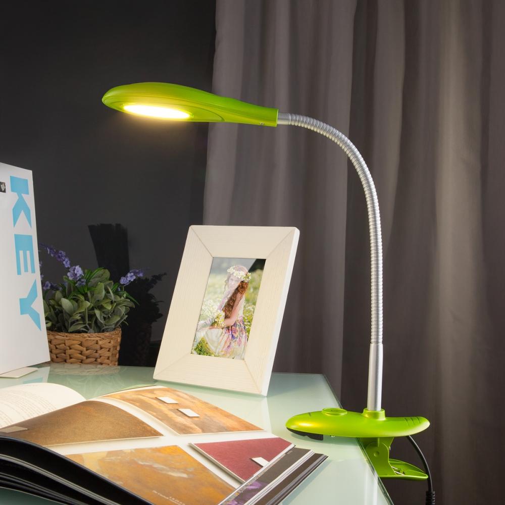 Captor green (TL90300) Настольная лампа на прищепке Elektrostandard Captor (a038016)