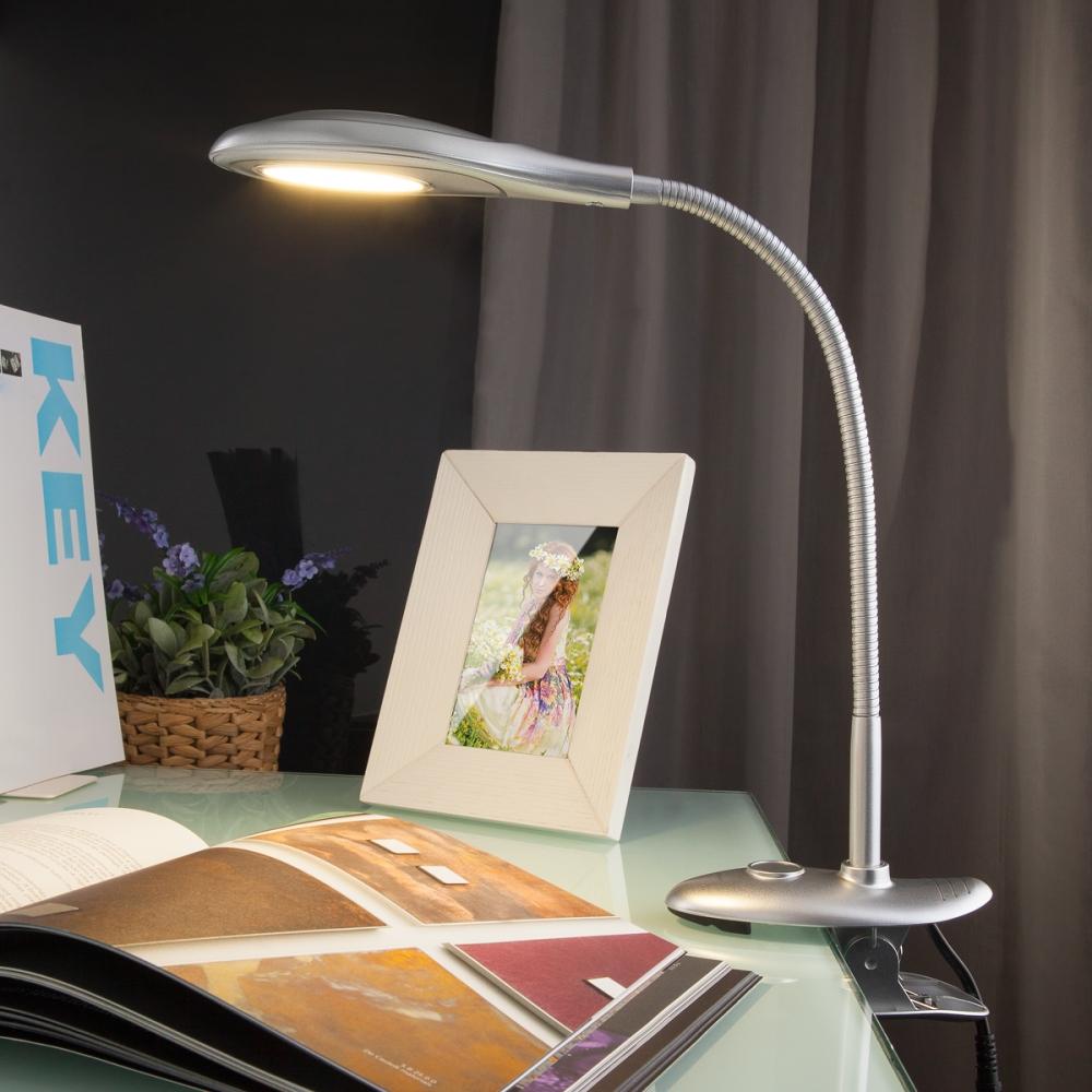 Captor silver (TL90300) Настольная лампа на прищепке Elektrostandard Captor (a038017)
