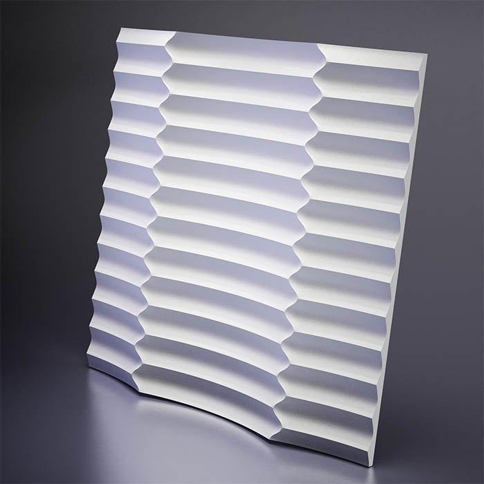 M-0033 Дизайнерская 3D панель из гипса Artpole Design Ruffle
