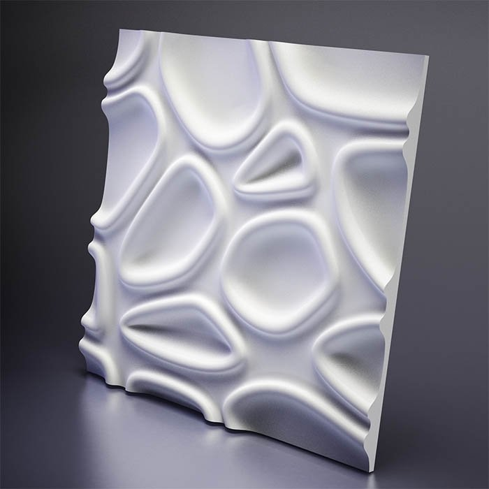 M-0002 Дизайнерская 3D панель из гипса Artpole Design Capsul