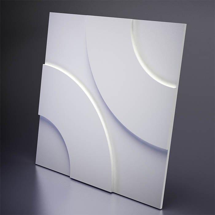 M-0022 Дизайнерская 3D панель из гипса Artpole Design Hoop