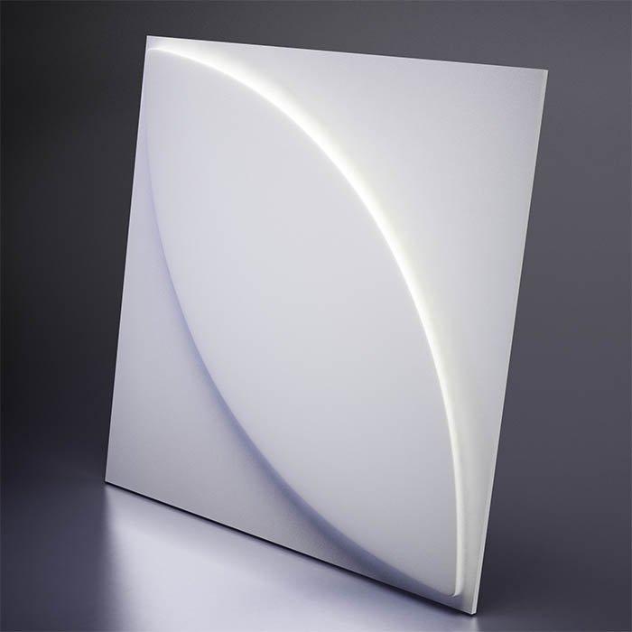 M-0021 Дизайнерская 3D панель из гипса Artpole Design Plant
