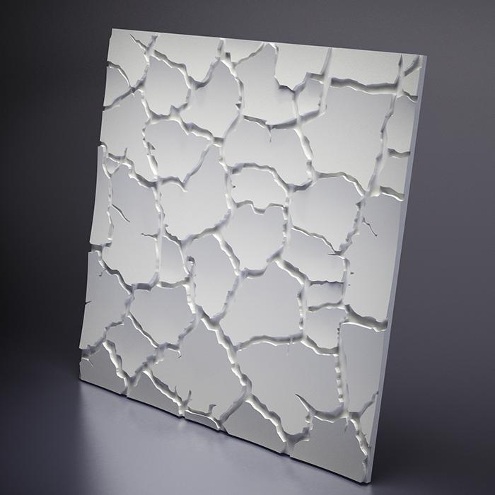 M-0005 Дизайнерская 3D панель из гипса Artpole Design Sahara