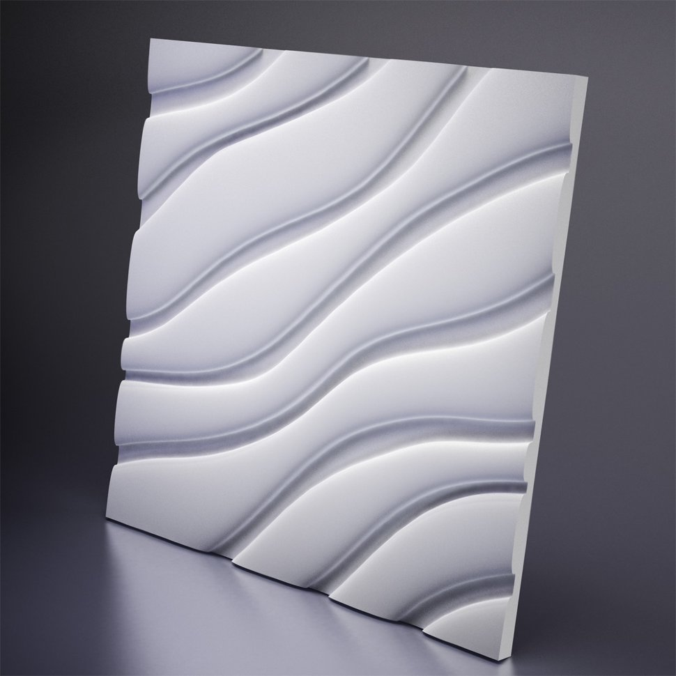 M-0037 Дизайнерская 3D панель из гипса Artpole Design Velvet
