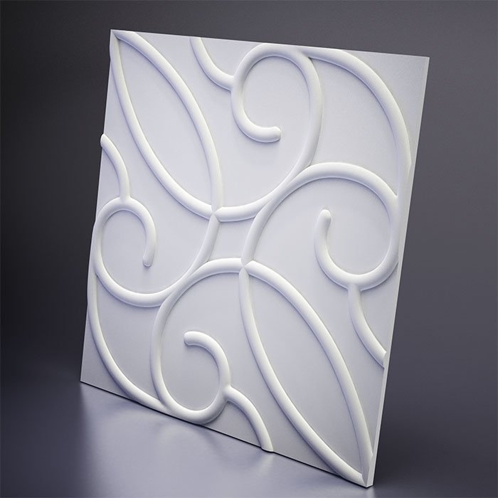 M-0007 Дизайнерская 3D панель из гипса Artpole Design Zafira