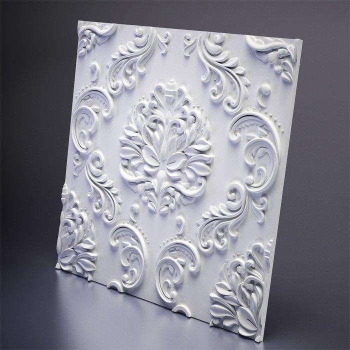 М-0039 Дизайнерская 3D панель из гипса Artpole Design Valencia