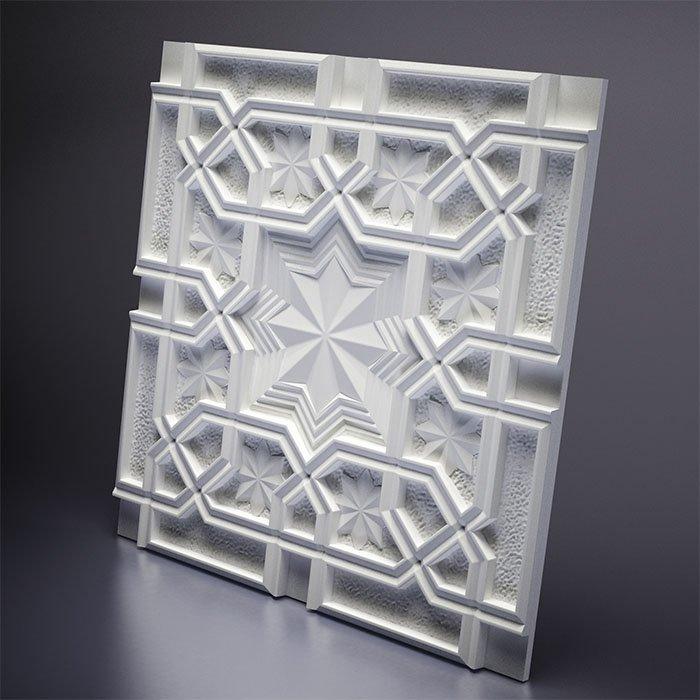 М-0036 Дизайнерская 3D панель из гипса Artpole Design Sultan