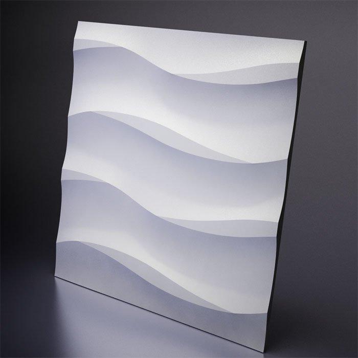 М-0041 Дизайнерская 3D панель из гипса Artpole Design Cotton