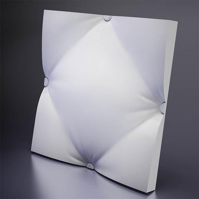 M-0023 Дизайнерская 3D панель из гипса Design Ampir